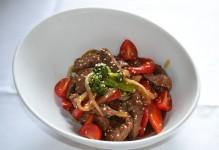 Bœuf aux légumes teriyaki