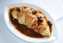 Poitrine de poulet sauce champignons