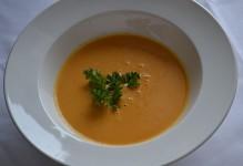 Crème de carotte et gingembre