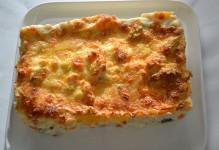 Lasagne aux 8 légumes et aux 2 fromages
