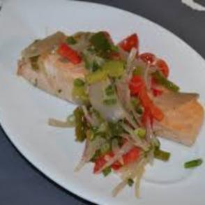 Saumon-Legumes