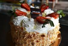 Shortcake aux fraises   6 pouces